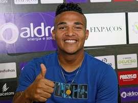 Welthon es un auténtico fan de Cristiano Ronaldo. EFE