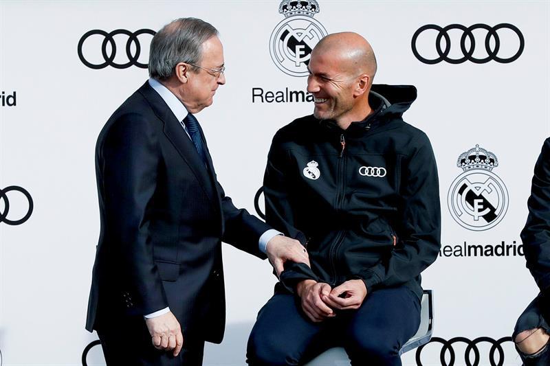 Florentino vaticinó que enfrentaría al Bayern Munich y acertó — Real Madrid
