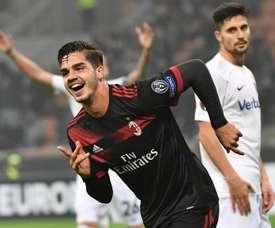 André Silva é um dos melhores goleadores desta edição da Liga Europa. EFE/DANIEL DAL ZENNARO