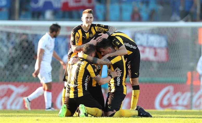 O Peñarol conquistou o título uruguaio. EFE