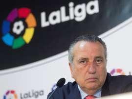 Fernando Roig, muy molesto con el Athletic. EFE