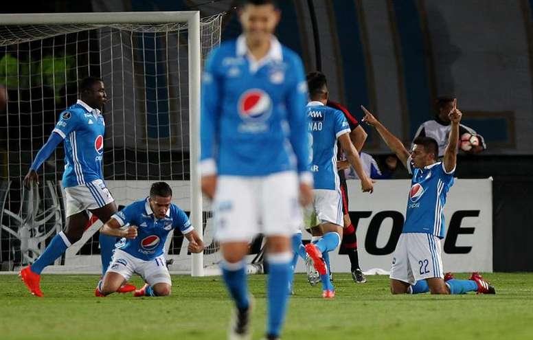Millonarios, campeón del Torneo Finalización de Colombia. EFE/Archivo