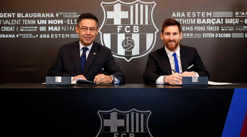 La clause à 700 M€ de Messi inquiète le Barça