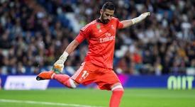 Kiko Casilla no tiene sitio en el Real Madrid. EPA/Archivo