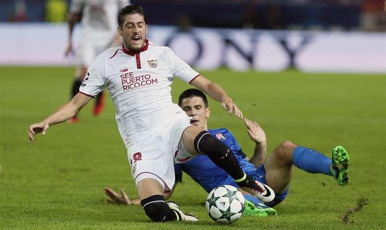 Escudero está en la lista de Montella para el choque ante el Atlético. EFE/archivo