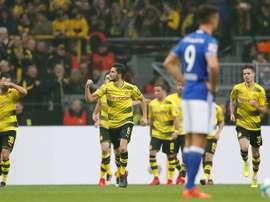 Un match de folie à Dortmund. AFP