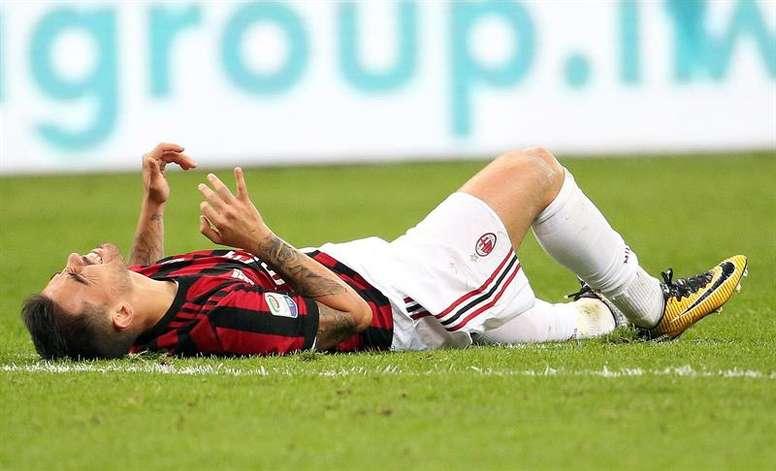 Suso pourrait abandonner Milan cet été. EFE