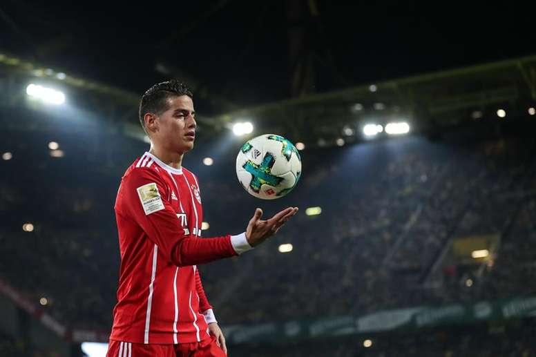 Valderrama en est certain : James sera l'obstacle du Real Madrid. EFE