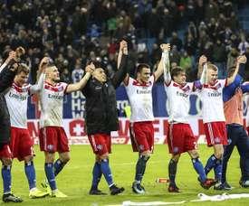 El Hamburgo le ha ganado 1-0 a un rival directo. EFE/EPA/Archivo