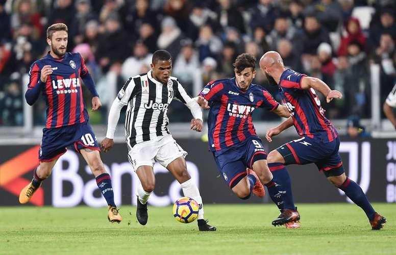Juventus empata com o 18º e vê Napoli aproximar-se.EFE