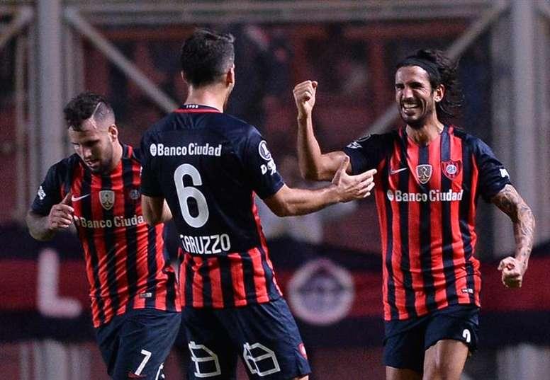 San Lorenzo empieza el 2018 con el pie derecho. EFE