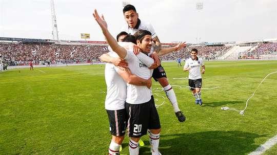 Colo Colo, líder de la Liga de Chile. EFE