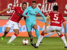 Le FC Barcelone accueillera le Real Murcie au Camp Nou. EFE
