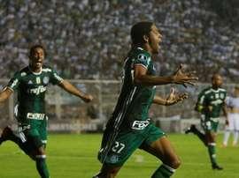Keno foi a grande figura da partida com o Botafogo. EFE