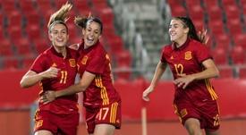 España goleó sin contemplaciones a Austria. EFE