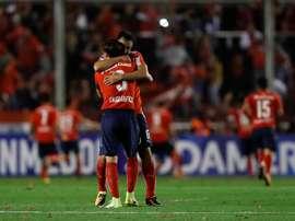 Independiente se coló en la final de la Sudamericana. EFE