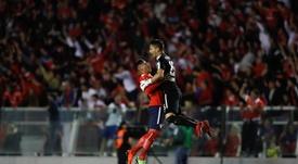Campaña y Silva volvieron tras el partido ante México. EFE/Archivo