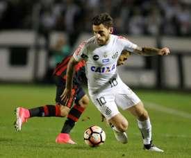 Lucas Lima podría pasar a Palmeiras. EFE