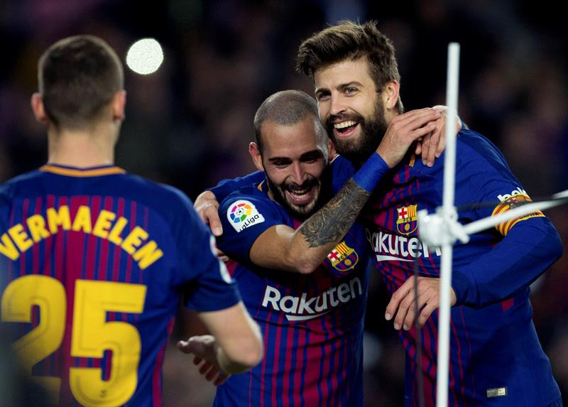 FC Barcelone : Gerard Piqué prolongé jusqu'en 2022