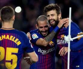 Le Barça n'y est pas allé de main morte. EFE