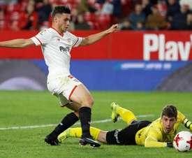 El Benfica querría hacerse con la cesión de Corchia. EFE