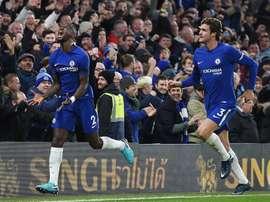 Chelsea venceu o Swansea por 1-0. AFP