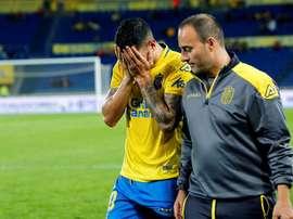 Sevilla não perdoa Vitolo pela sua saída do clube. EFE