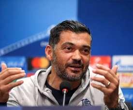 Sérgio Conceição desvalorizou o problema com a Seleção do México. EFE