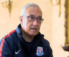 El técnico ha sido despedido del actual colista de la Liga China. EFE