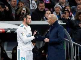 Bale a joué plus de match avec le Real Madrid que Zinedine Zidane. EFE