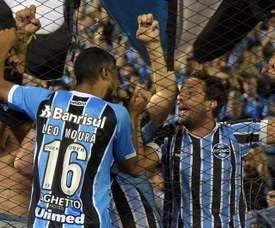 Léo Moura se lesionó el pasado miércoles contra Independiente. EFE/Archivo