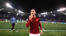 Totti regresará al Bernabéu como directivo de la Roma. EFE/Archivo