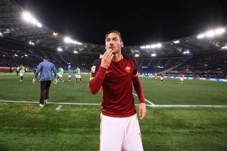Totti descartó regresar al equipo de sus amores. EFE