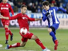 El conjunto alavesista se tendrá que quedar con los tres futbolistas. EFE