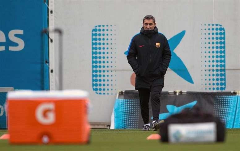Valverde se despidió de Arda Turan. EFE
