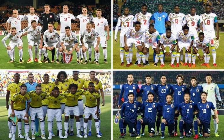 You could make a case for any of the four teams in Group H progressing. EFE