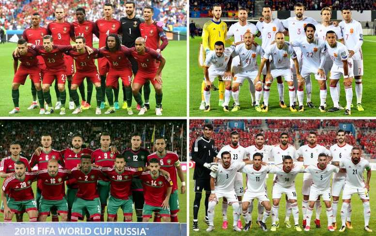 Spain are favourites to top the group. EFE