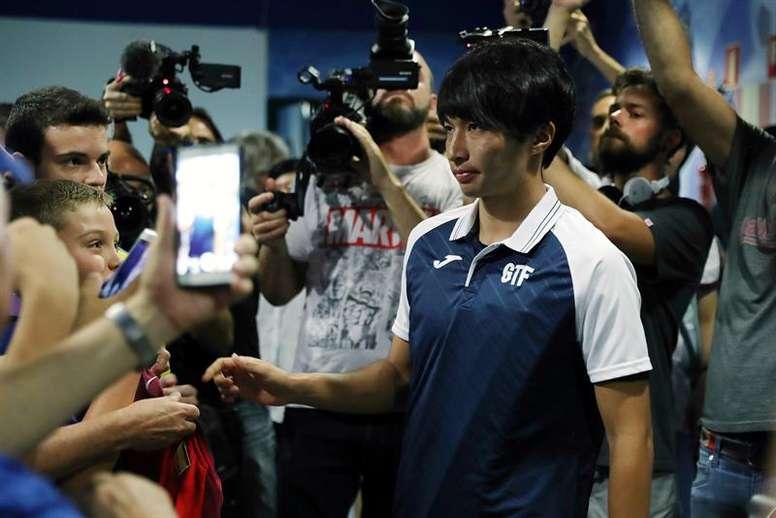 Shibasaki ha dicho adiós a sus molestias. EFE