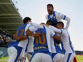 O Leganés venceu na receção ao Villarreal. EFE