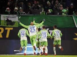 El Wolfsburgo ha dado un repaso al 'Gladbach. EFE/EPA