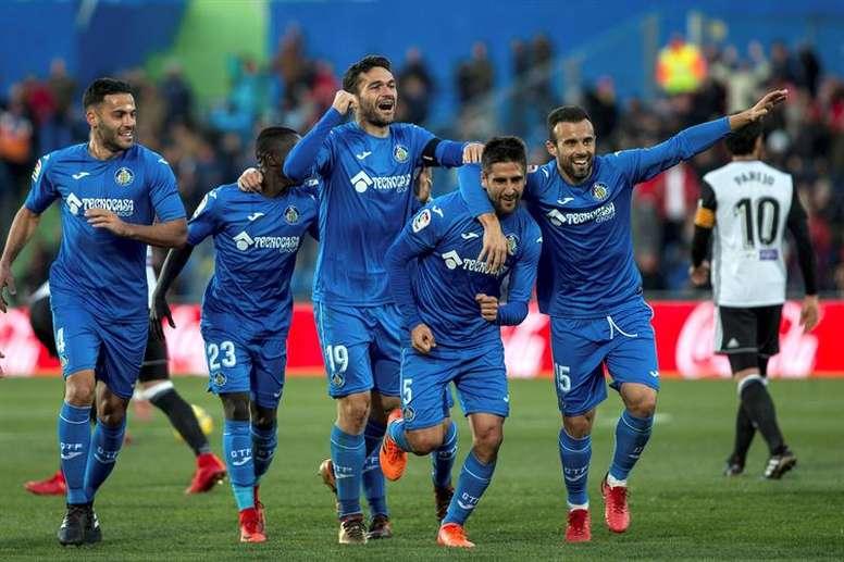 Desde Italia vigilan a un jugador de la escuadra azulona. EFE/Archivo