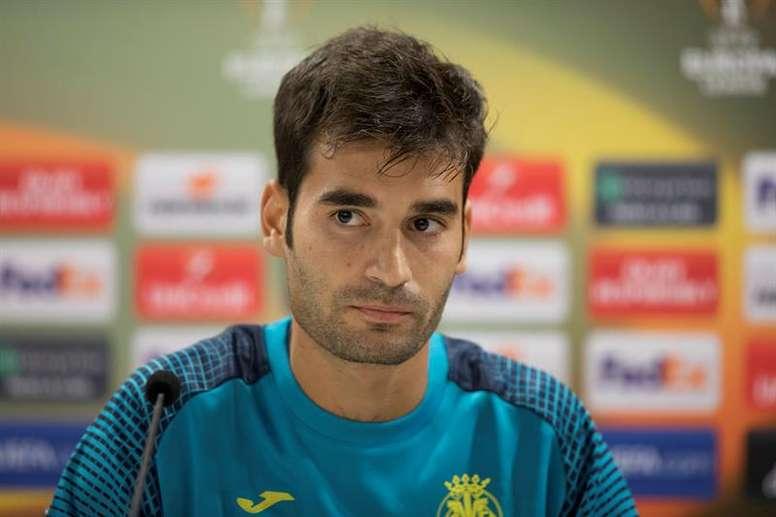 Trigueros admitió que al Villarreal le falta confianza. EFE/Archivo