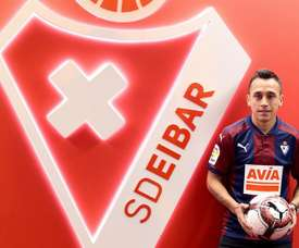 Orellana has joined Eibar until the end of the season. EFE