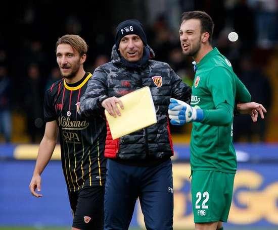 El guardameta volverá a la Juventus después de estar cedido. EFE/Archivo
