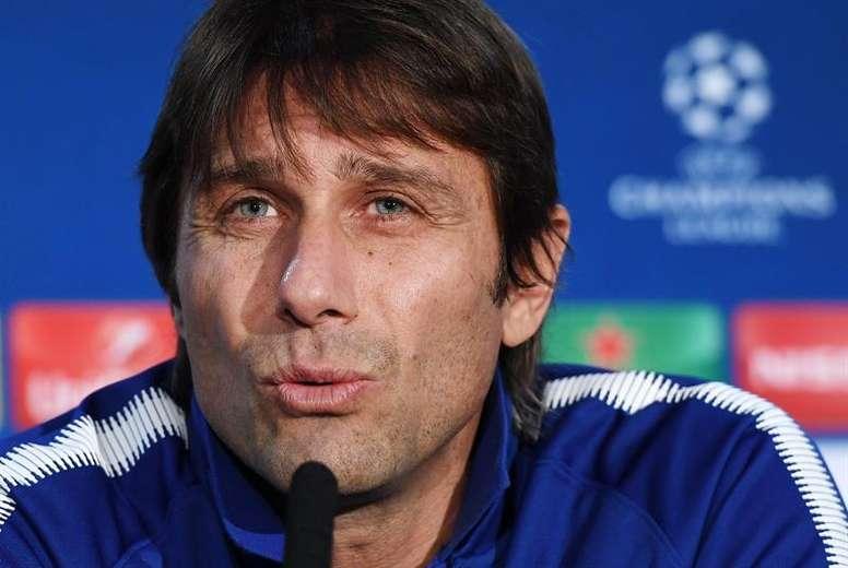 Conte cree que hicieron un buen partido en la ida, pero un error les condenó. EFE