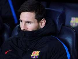 Messi, Rakitic e Piqué, ficam no banco contra o Villarreal. EFE