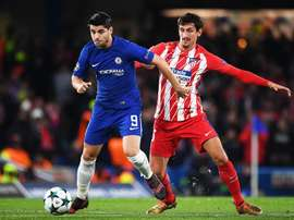 Morata was unable to find the net for Chelsea. EFE