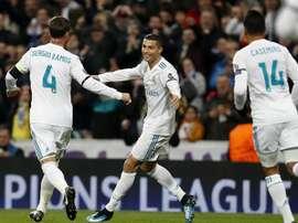 Ronaldo got his record. EFE