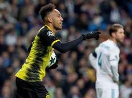 O Borussia Dortmund foi relegado para a Europa League. EFE