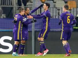 Maribor take on Rangers on Thursday in the Europa League. EFE